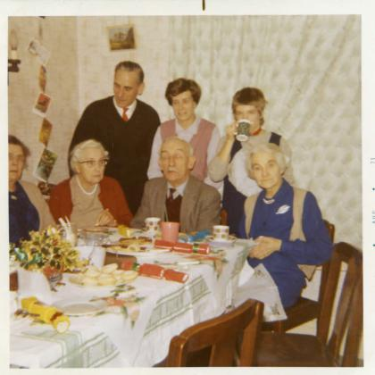 Familty Christmas 1970