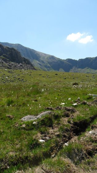 Gentle slopes of Snowdonia