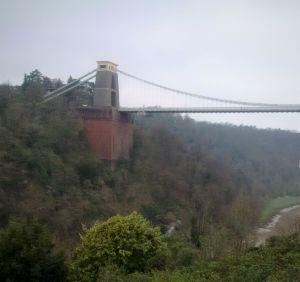 Brunel's Clifton Suspension Bridge in Bristol