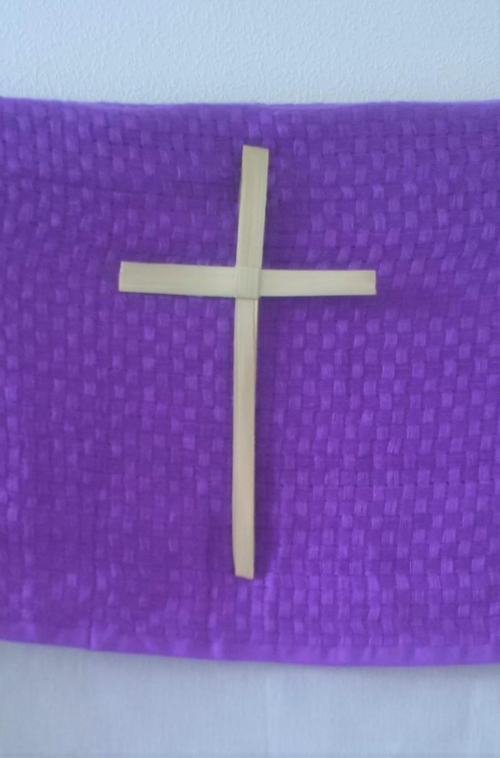 A palm cross